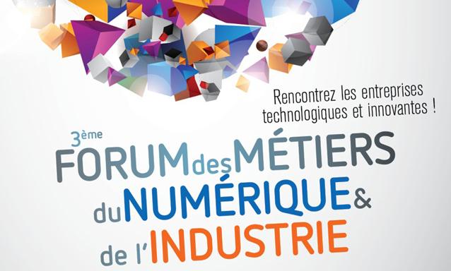 Forum des métiers du numérique à Poitiers