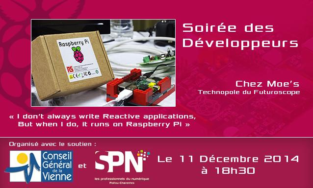 soiree developpeurs raspberry