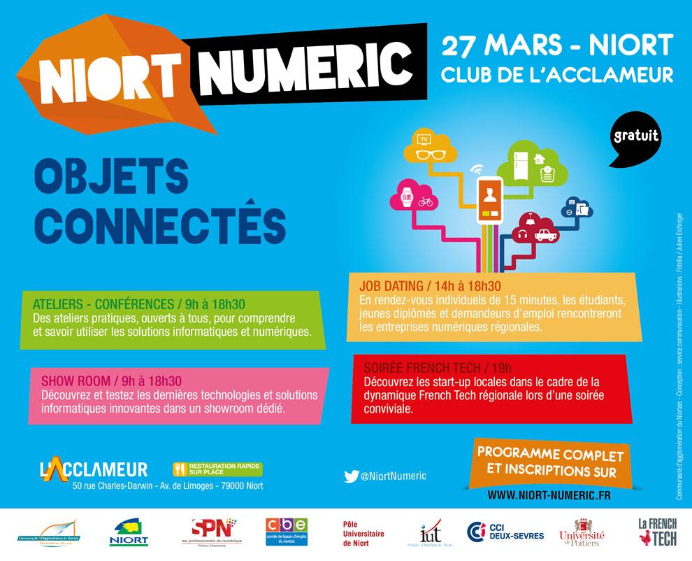 L'évènement Niort Numéric.