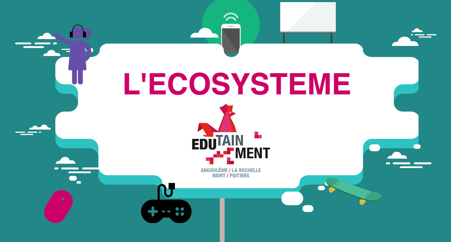 infography-edutainment l'ecosysteme