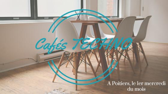 Visuel café techno Poitiers