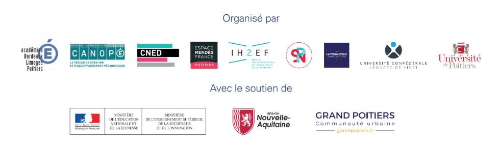 Logos des partenaires de In-Fine